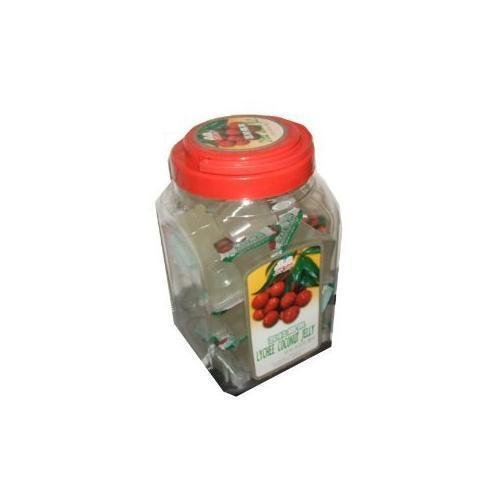 Jin Jin Lychee Coconut Candy Jelly Cups 52.9 Ounce Container New (Jin Jin Jelly compare prices)
