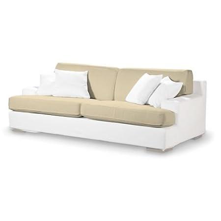 4-tlg. Sofa-Bezug-Set Farbe: Vanille