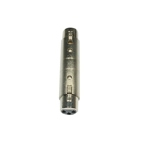 Accu Cable AC-A-XF3/XF3 Kupplung XLR 3 polig weiblich Metallversion