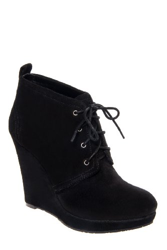 Jessica Simpson Catcher Mid Wedge Bootie