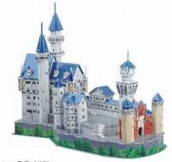 Cheap CALEBOU 3D 3D Neushwanstein Castle Germany Puzzle Model (B002Q2G8AQ)