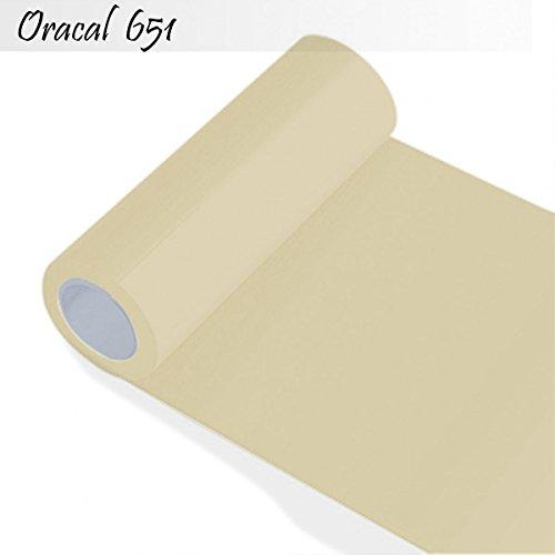 INDIGOS-Oracal-651-Orafol-glnzend-fr-Kchenschrnke-und-Dekoration-Autobeschriftung-Schutzfolie-Folie-5-m-Breite-63-cm-Farbe-82-beige-ORACAL651-1-5mx63-82
