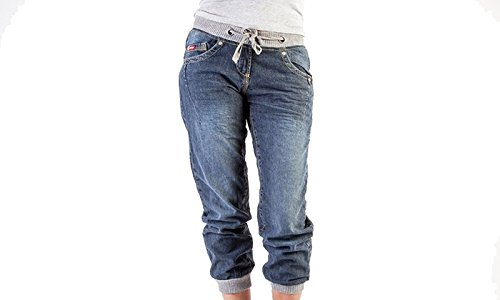 Lee Cooper -  Jeans  - Donna Cuffed - Blue (12L) UK
