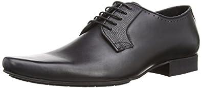 Hudson Men's Larkin Brogue, Black, 7 UK