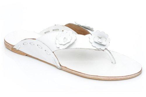 Cheap Unze Leather Floral Thing Unze Casual Slipper – 10151 (B00531T71E)