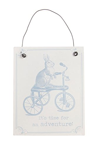 shabby-chic-mr-hare-rabbit-its-time-for-adventure-metal-sign-plaque-hanging