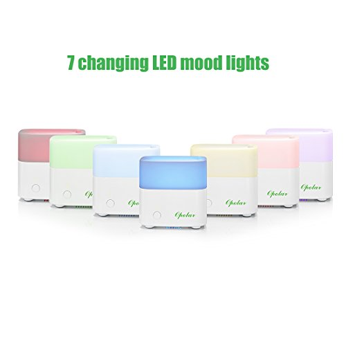 Essential Oil Diffuser And Humidifier For Aromatherapy Opolar Mini Portable Humidifier With Led