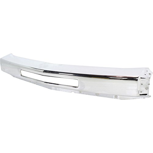 Diften 105-A1321-X01 - New Bumper Reinforcement Front Chrome Full Size Truck Chevy GM1002831 15941850 (Silverado Bumper compare prices)