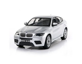 8541 BMW X6 M 1:14 3CH Radio Remote Control Car EMS Shipping (Silver) + Worldwide free shiping