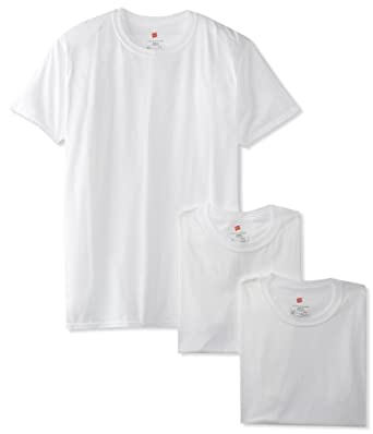Hanes Men's 3 Pack Ultimate X-Temp Crewneck T-Shirt, White, Small