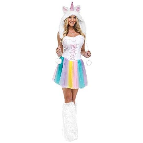 Unicorn Costume Adult Halloween Fancy Dress
