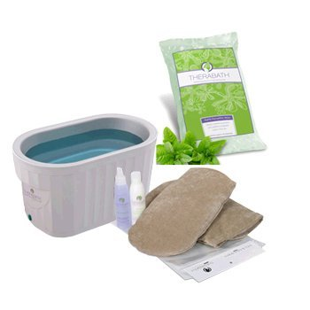 Therabath Pro Warmer With 6-pounds Wintergreen Paraffin And Manincure Kit With Instructions. gigi digital paraffin warmer with steel bowl
