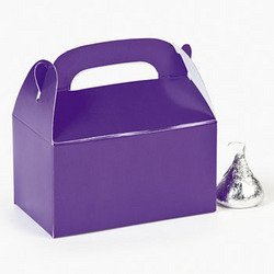 MINI PURPLE TREAT BOXES (2 DOZEN) - BULK