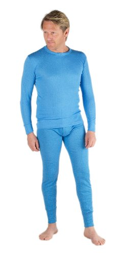Mens Thermal Underwear Set Long Sleeve Vest & Long Johns [Thermals]