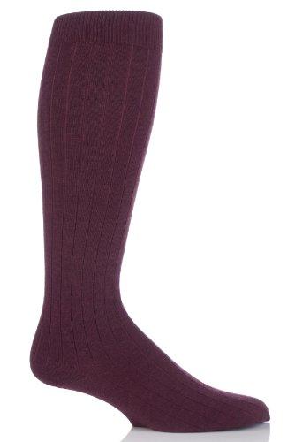 viyella-chaussettes-hautes-homme-rouge-mulberry-moyen