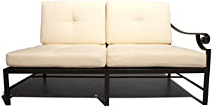 Strathwood Falkner Sectional Left Arm Loveseat With Cushions from Strathwood