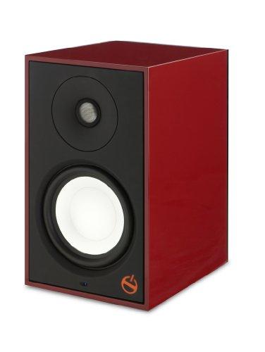 Paradigm Shift Series A2 Fully Powered Bookshelf Speaker - Each (Vermillion Red Gloss)
