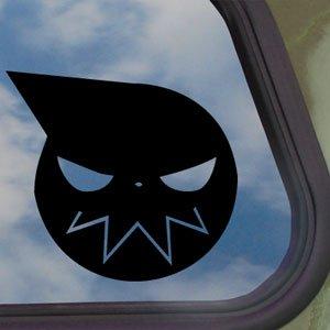 amazoncom soul eater black decal anime car truck bumper
