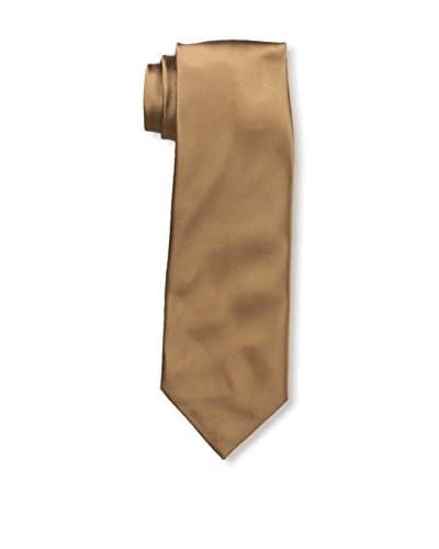 Isaia Men's 7-Fold Silk Tie, Golden Brown