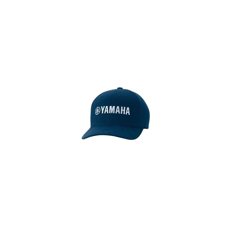 Fox Racing Yamaha Hat   Large/X Large/Navy Automotive