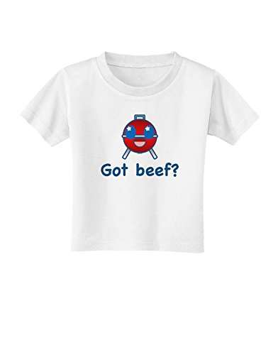 Got Beef Toddler T-Shirt - White - 4T