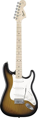 Squier By Fender Affinity Stratocaster Maple, 2 Tone Sunburst