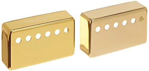1-set(2pcs) Humbucker Neck & Bridge Guitar Pickup Covers Gold High Quality (Bridge Cover compare prices)