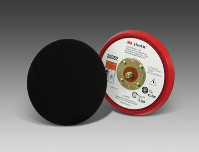 3M Hookit PN20352 Low Profile Disc Pad for Hook-and-Loop Discs, 5/16