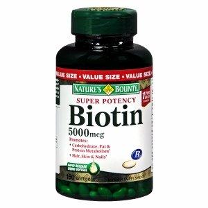 Nature S Bounty Biotin Amazon