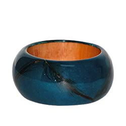 Skin Dyed Blue Bangle (ASEAN Agenda)