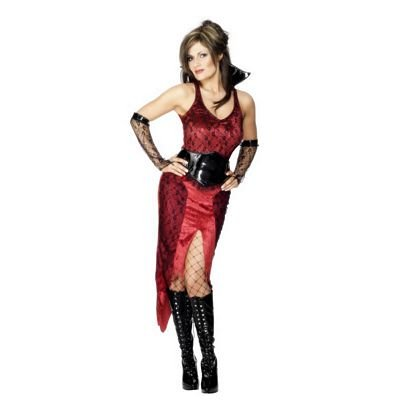 Fever Halloween – Vampiress Costume – Medium – 12 / 14
