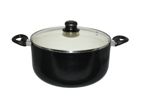 Concord 10 Quart Nonstick Ceramic Dutch Oven Cookware (Induction Compatible)
