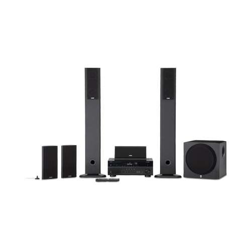 Yamaha Yht899Ubl High Quality Durable 115W 5.1 Channel Av Home Theater