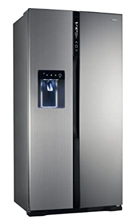 Panasonic NR-B53V1-XE Side-by-Side / A++ / 346 kWh/Jahr / 324 L Kühlteil / 206 L Gefrierteil / TWIN-ECO-Kühlsystem / VitamineSafe mit LEDs zur Vitaminerhaltung / edelstahl