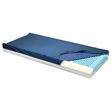 "Gold Care Foam Mattress Size: 80"" H x 42"" W x 6"" D, Zipper: Without, Perimeter Options: With Defined Perimeter and Heel Slope"