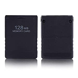 Aoile for Sony Playstation 2 PS2 Memory Card 8M / 16M / 32M / 64M /128M High Speed Gameboy Micro Game Memory Card for Sony Playstation 64MB (Color: 64MB)