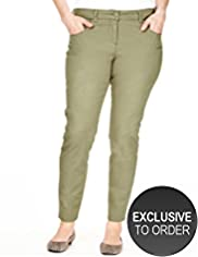Plus 5 Pocket Stretch Skinny Jeggings
