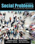 img - for Social Problems: A Case Study Approach 3rd edition by DOLCH NORMAN ALLEN, WISE HELEN K, POLSON EDWARD CLAYTON, (2011) Paperback book / textbook / text book
