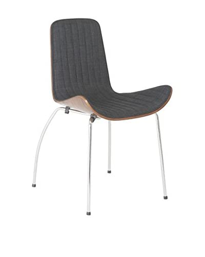 Eurostyle Curt Side Chair, Gray