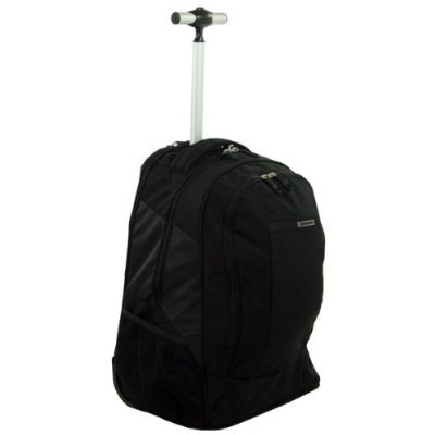 Samsonite Wander-FULL Large Backpack with Wheels Black