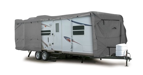 Camco 45744 30' ULTRAGuard Class C/Travel Trailer Cover (108