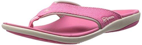 Spenco 39-543 Women's Yumi Canvas Sandal Pink 8 M US