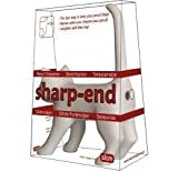 White Sharp End Cat Bum Pencil Sharpener