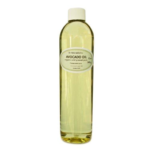 Avocado Oil Organic Cold Pressed 100% Pure 16 Oz