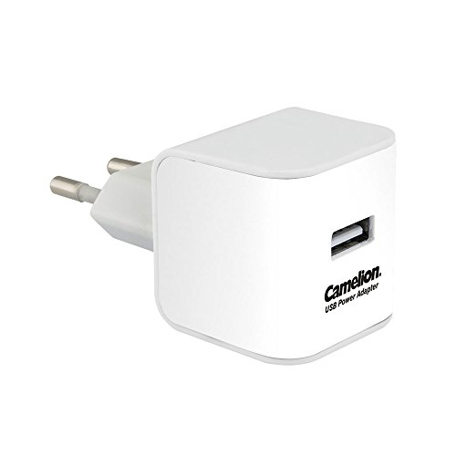 Camelion AD518-C1-DB Adaptateur d'alimentation USB Blanc