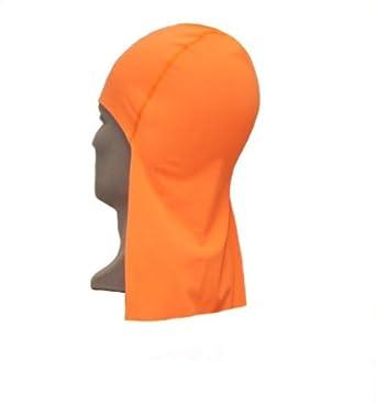 Buy Maxit Coda Cap Beanie Hat With Neckshade Orange 103800145 by Maxit