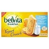 Belvita Breakfast Yogurt Crunch Cream Live Yogurt Biscuits 253G