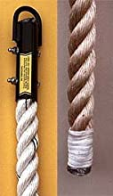 Polyplus Climbing Rope with Whipped End - 18 Feet Long