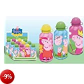 Borraccia 500ml in metallo per acqua Peppa Pig Originale