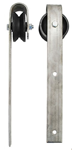 Sliding Barn Door Wheel & Hanger - 2 pcs.
